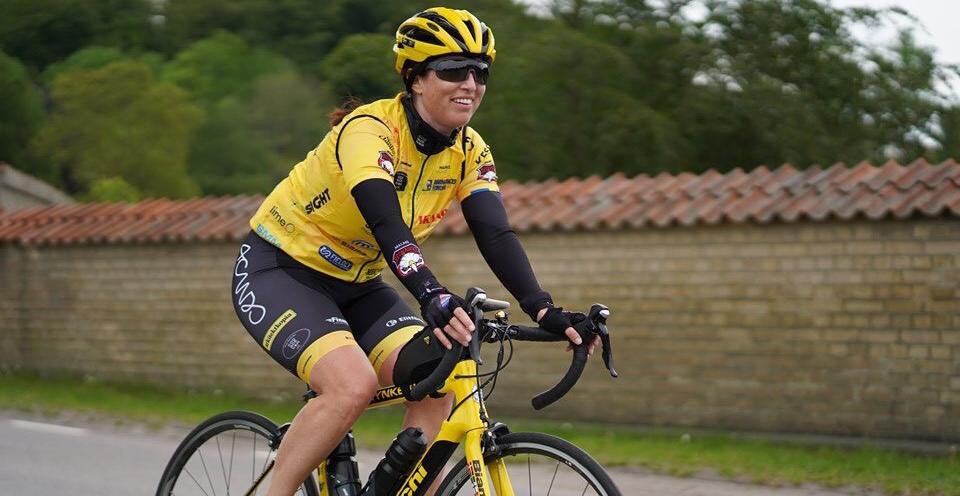 Konsulten som cyklar mot cancer